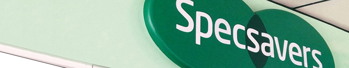 Specsavers banner