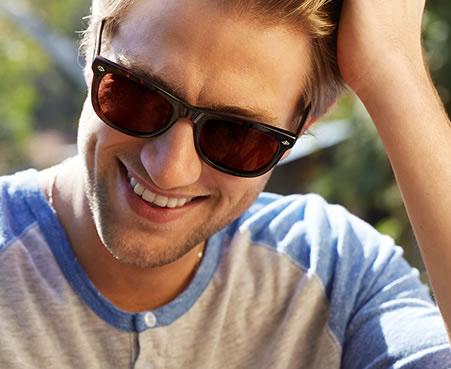 Men's prescription sunglasses