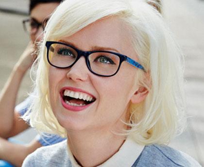 Teens' glasses
