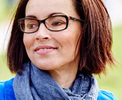 Women's designer glasses