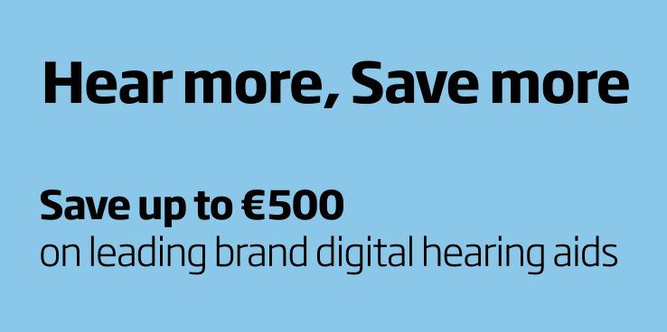 Save on leading brand digital hearing aids