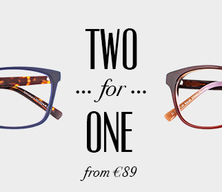 d3c97cd946f6 2 FOR 1 GLASSES 2 for 1 from €89