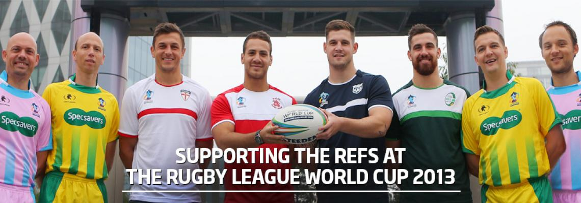 Specsavers and the Rugby League World Cup 2013